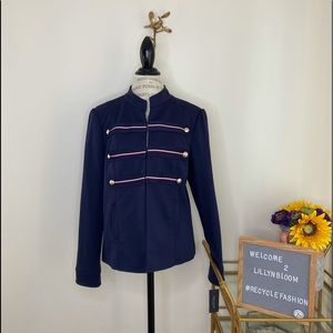 Tommy Hilfiger navy double breasted jacket NWT